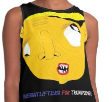 Derpy Trump Clothing Line Contrast Tank