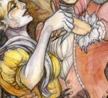 Demon Ball detail: The prisoner poet Sticker