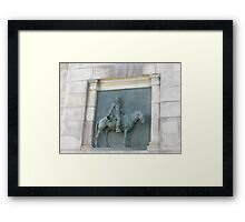 Views of Grand Army Plaza - Artwork Under the Arch Framed Print