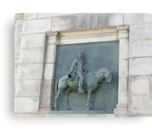 Views of Grand Army Plaza - Artwork Under the Arch Canvas Print