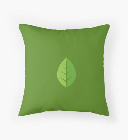 Pokemon Go - Grass Type Throw Pillow