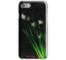 Narcissus in the woods iPhone Case/Skin