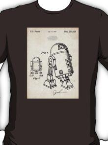 Star Wars R2D2 Droid US Patent Art T-Shirt