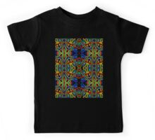 Tribal Visions Psychedelic Abstract Pattern 1 Kids Tee