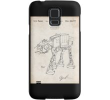 Star Wars AT-AT Imperial Walker US Patent Art Samsung Galaxy Case/Skin