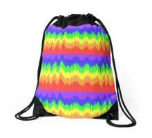 Shock Wave Rainbow #2 Drawstring Bag