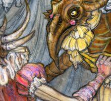 Demon Ball detail: Little monster in love Sticker