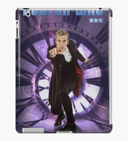 Crouching Capaldi iPad Case/Skin