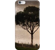 Magpies on the Fenceline iPhone Case/Skin