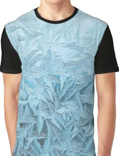 Icy Frost Print Graphic T-Shirt