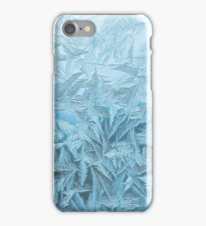 Icy Frost Print iPhone Case/Skin
