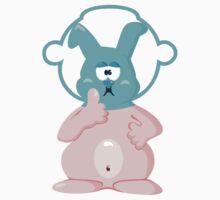 Diver bunny VRS2 Kids Clothes