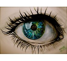 Glass Eye. Photographic Print