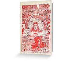 Grateful Dead 1968 Greeting Card