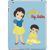 Being A Big Sister Is A Royal Responsibility iPad Case/Skin