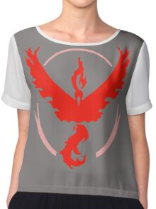 pokemon go team valor Chiffon Top