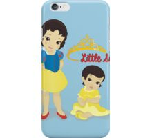 Little Sisters Aren't Always a Royal Pain iPhone Case/Skin