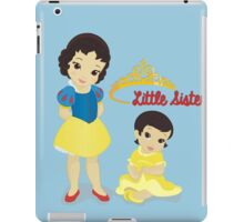 Little Sisters Aren't Always a Royal Pain iPad Case/Skin