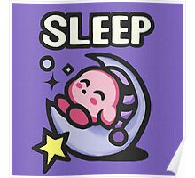 Kirby Sleep Poster