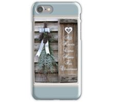 All Hearts Come Home for Christmas iPhone Case/Skin