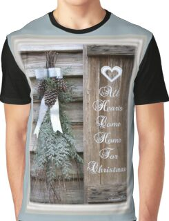 All Hearts Come Home for Christmas Graphic T-Shirt