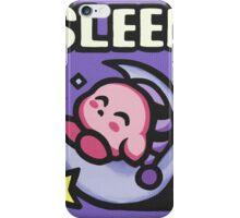 Kirby Sleep iPhone Case/Skin