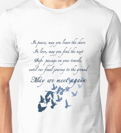 The Traveler's Blessing (May We Meet Again) Unisex T-Shirt
