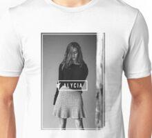 Alycia Debnam-Carey Black and White Name Unisex T-Shirt