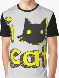 Cat Lovers Graphic T-Shirt