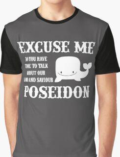 sea life poseidon Funny  Graphic T-Shirt