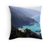 Big Sur Print 1 Throw Pillow