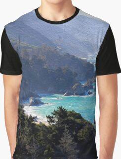 Big Sur Print 1 Graphic T-Shirt