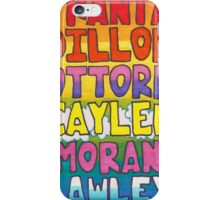 O2L 6/6 FOREVER HAND DRAWN NAMES iPhone Case/Skin