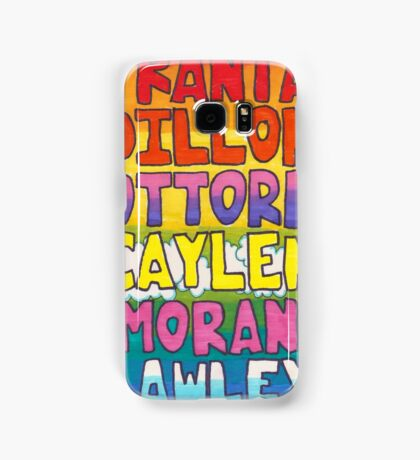 O2L 6/6 FOREVER HAND DRAWN NAMES Samsung Galaxy Case/Skin