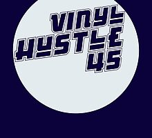 Vinyl Hustle Circle by modernistdesign