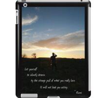 Be drawn iPad Case/Skin
