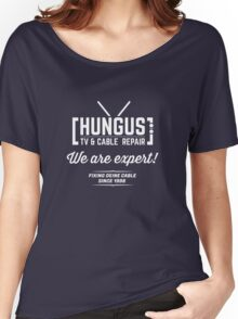 Hungus TV & Cable Repair Women's Relaxed Fit T-Shirt