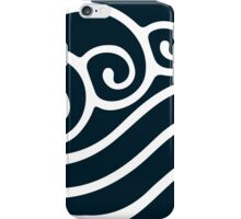 White Waterbending Emblem iPhone Case/Skin