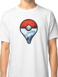Pokemon Go Locations  Classic T-Shirt