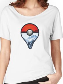 Pokemon Go Locations  Women's Relaxed Fit T-Shirt
