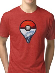 Pokemon Go Locations  Tri-blend T-Shirt