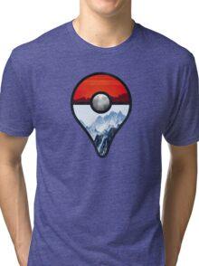 Pokemon Go Locations  Tri-blend T-Shirt