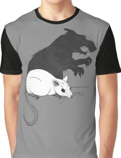 The Strange Case of Dr. Mouse and Mr. Rat Graphic T-Shirt
