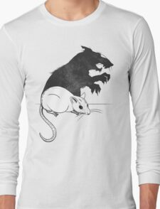 The Strange Case of Dr. Mouse and Mr. Rat Long Sleeve T-Shirt