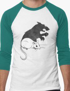 The Strange Case of Dr. Mouse and Mr. Rat Men's Baseball ¾ T-Shirt