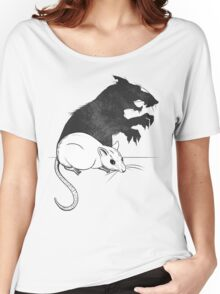 The Strange Case of Dr. Mouse and Mr. Rat Women's Relaxed Fit T-Shirt