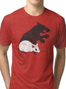 The Strange Case of Dr. Mouse and Mr. Rat Tri-blend T-Shirt