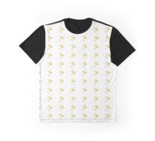 White Background Cutiefly Graphic T-Shirt