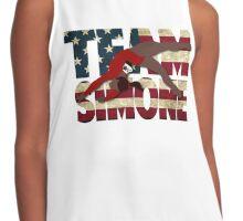 Team Simone Biles - USA Contrast Tank