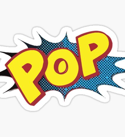 Pop Logo by American Jank Sticker